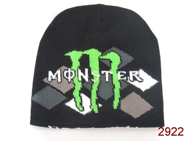 Monster Energy Beanie Black 1 SG